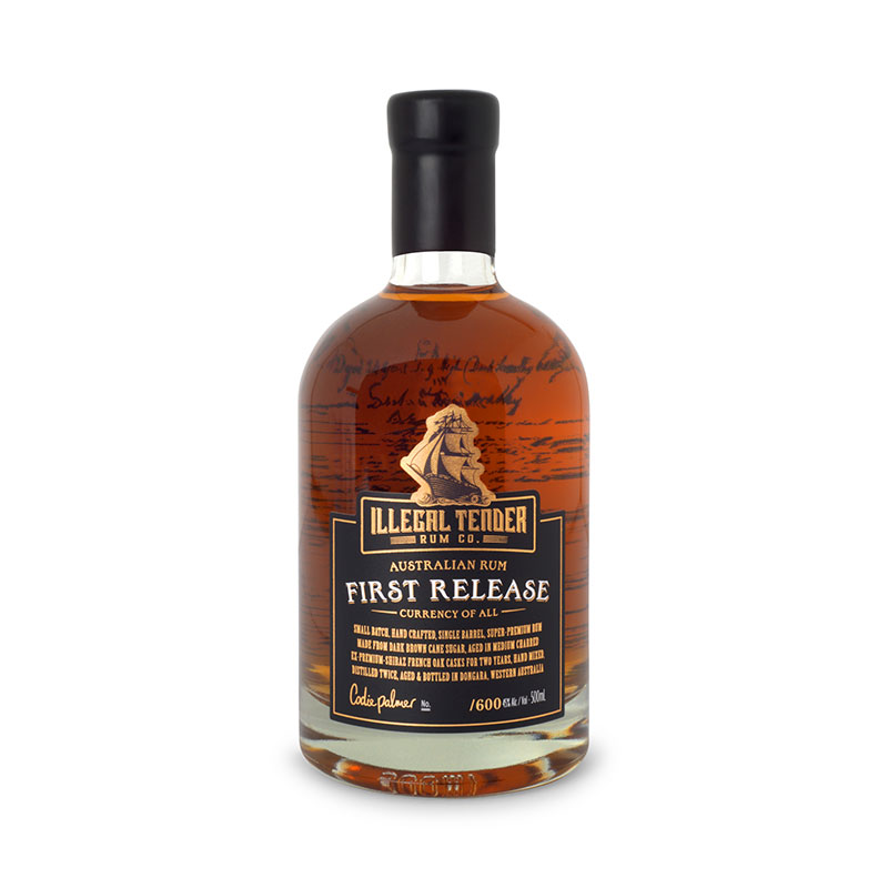 illegal tender Rum co First Release