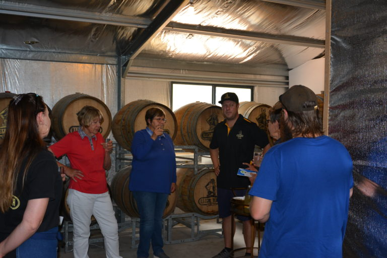Tour Group 2 Illegal Tender Rum Co