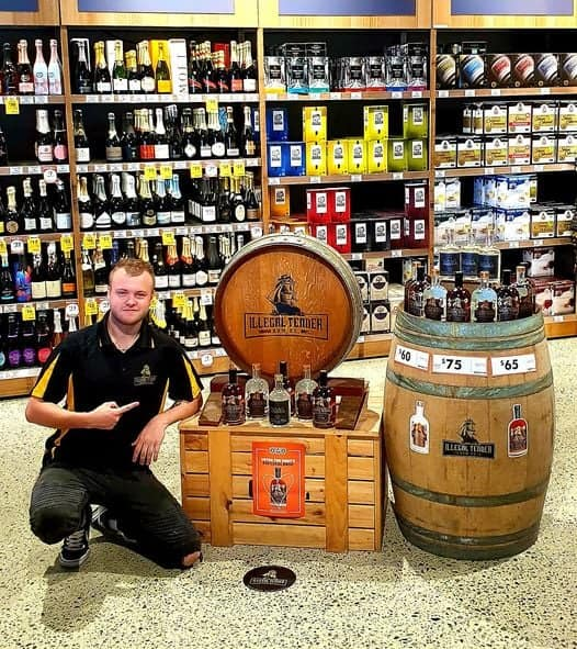 BWS Store with Illegal Tender Rum Co