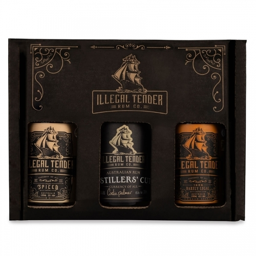 Illegal Tender Gift Set 200ml