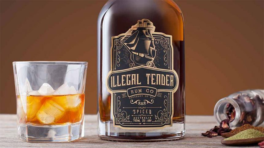 Illegal Tender Rum Co Spiced
